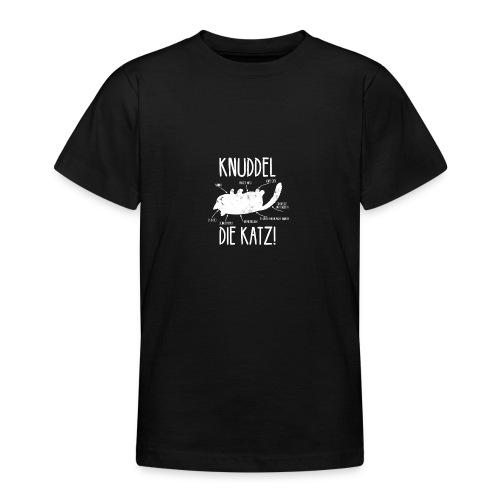 Lustige freche Katze Main Coon Geschenk - Teenager T-Shirt