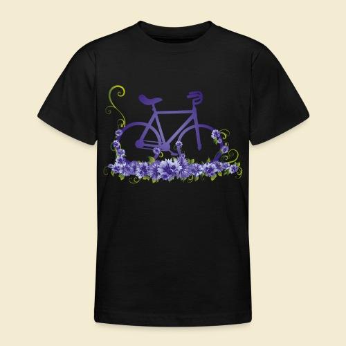 Kunstrad | Flower Power - Teenager T-Shirt
