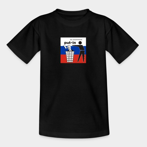 GHB Put in for recycling 190320181 - Teenager T-Shirt