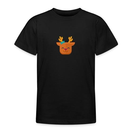 When Deers Smile by EmilyLife® - Teenage T-Shirt