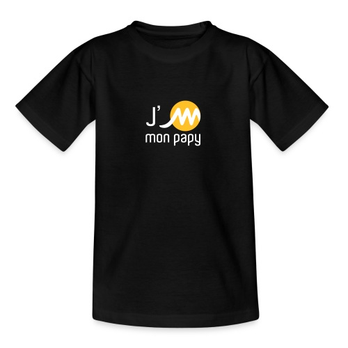 jMpapyblancjaune - T-shirt Ado