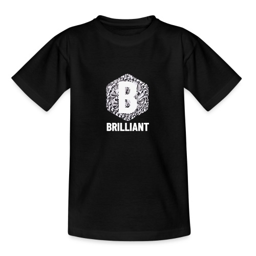 B brilliant white - Teenager T-shirt