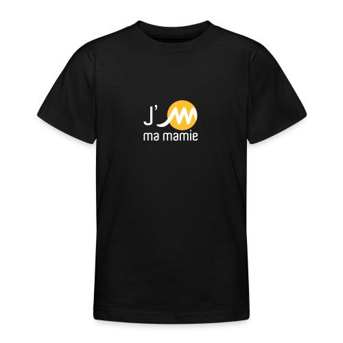 jMmamieblancjaune - T-shirt Ado