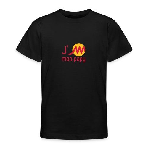 jMpapyrougejaune - T-shirt Ado