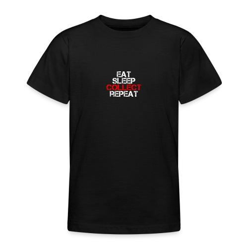 eat sleep - Teenage T-Shirt