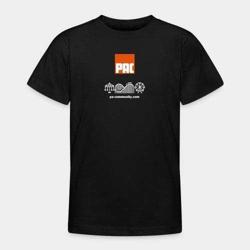 PAC - Camiseta adolescente