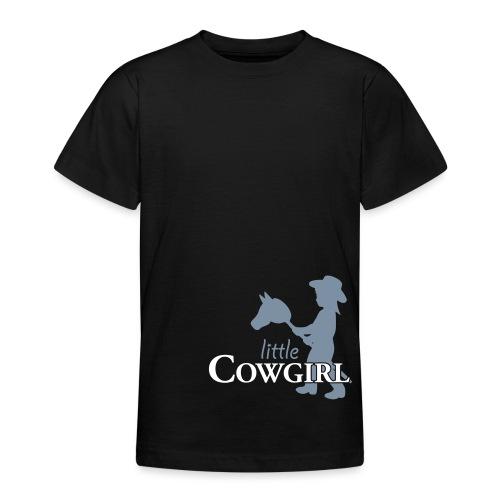 LittleCowgirl W - Teenager T-Shirt