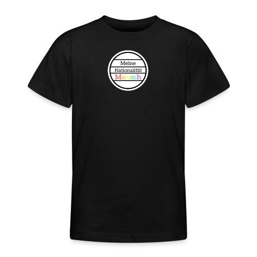 Nationalität Mensch - Teenager T-Shirt