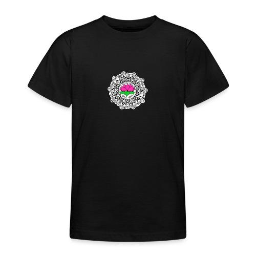 Lotus Flower Mandala - Teenage T-Shirt