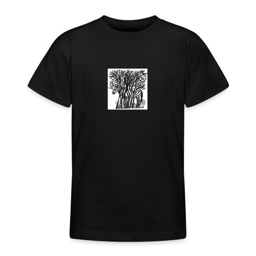 zebre fini - T-shirt Ado