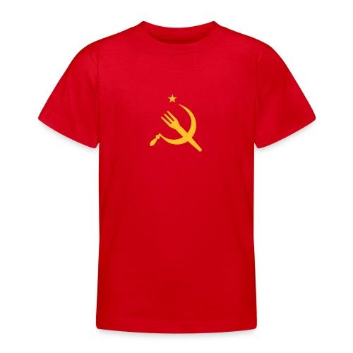 Fourchette en sikkel - USSR - belgië - belgique - T-shirt Ado