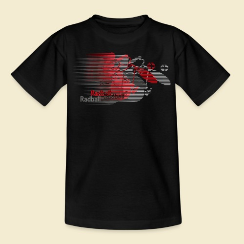 Radball | Earthquake Red - Teenager T-Shirt
