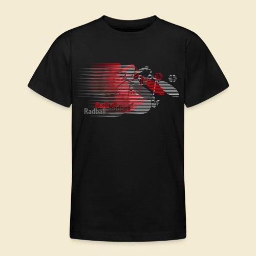 Radball | Earthquake Red - Teenager T-Shirt