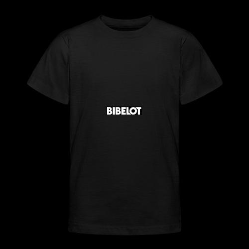 Bibelot Logo - Teenager T-shirt