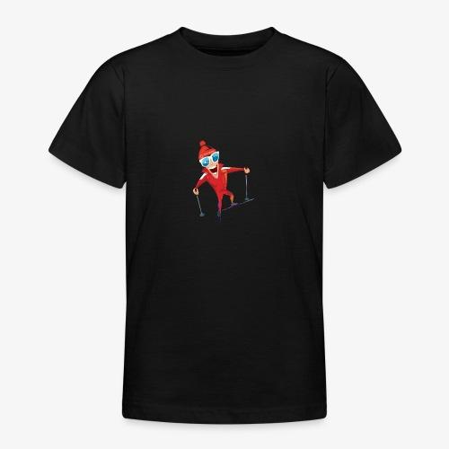 Skieur nordique Morbier - T-shirt Ado