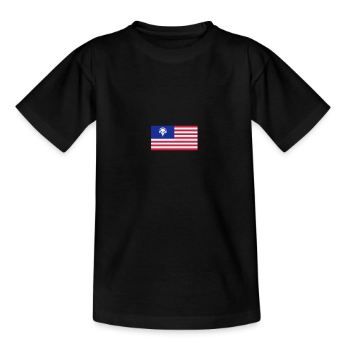 Football T-Shirt USA - Teenage T-Shirt