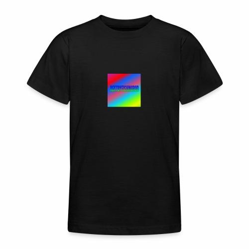 Mikkels Minecraft Navn - Teenager-T-shirt
