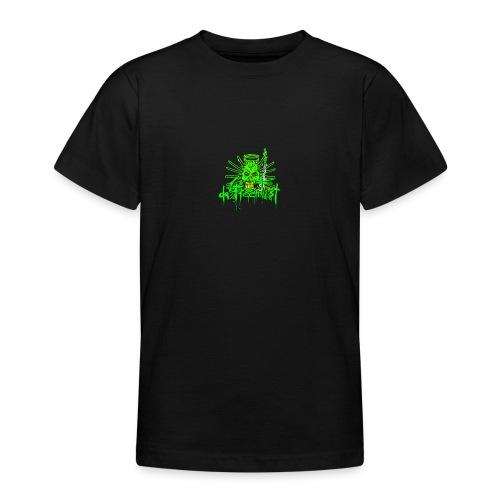 GFSkullOnlyColorShirt - Teenage T-Shirt