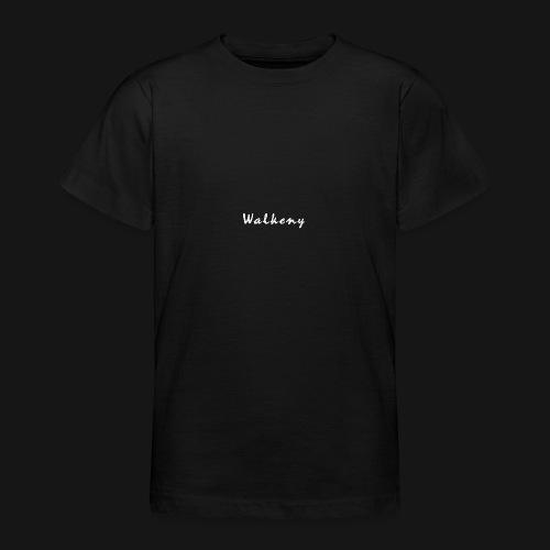 Walkeny Schriftzug in weiß! - Teenager T-Shirt