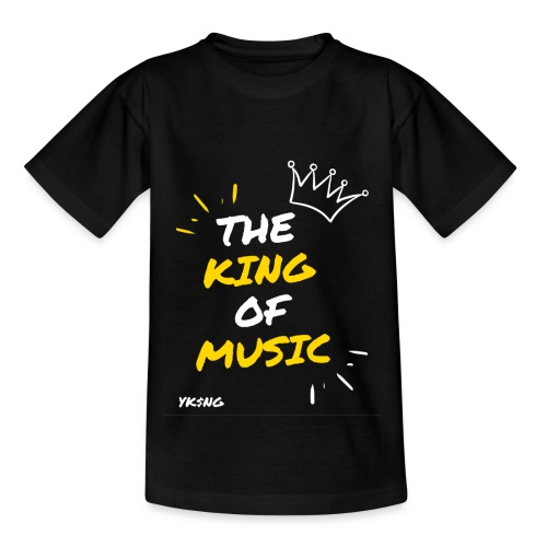 The king Of Music - Camiseta adolescente