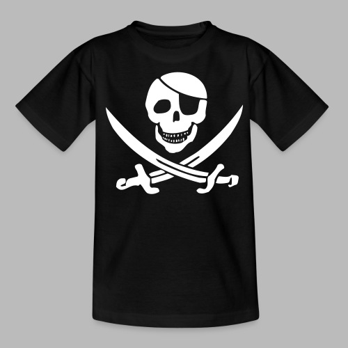 pirat pur klein - Teenager T-Shirt