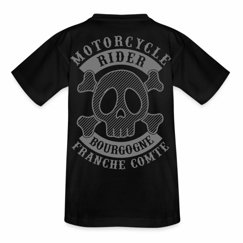 Motorcycle Rider Bourgogne-Franche-Comté - T-shirt Ado