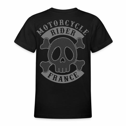 Motorcycle Rider France - T-shirt Ado