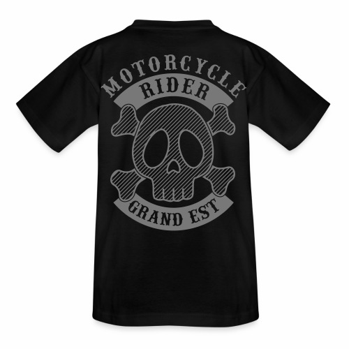 Motorcycle Rider Grand-Est - T-shirt Ado