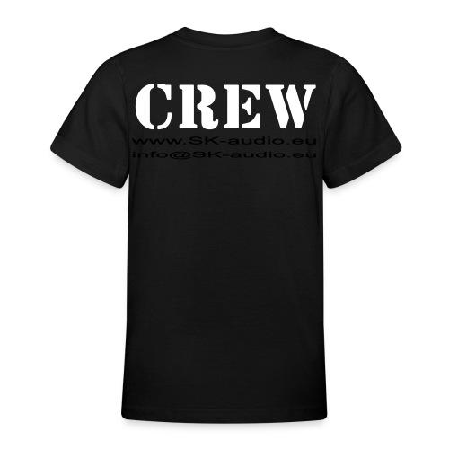 skaudio crew hintenkurve - Teenager T-Shirt