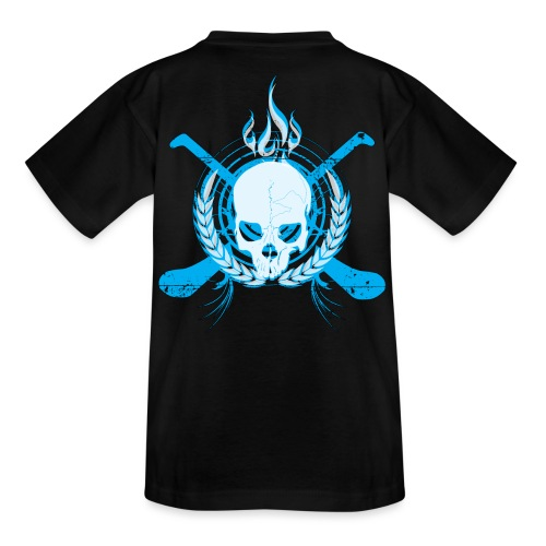 skullelectricblack - Teenage T-Shirt