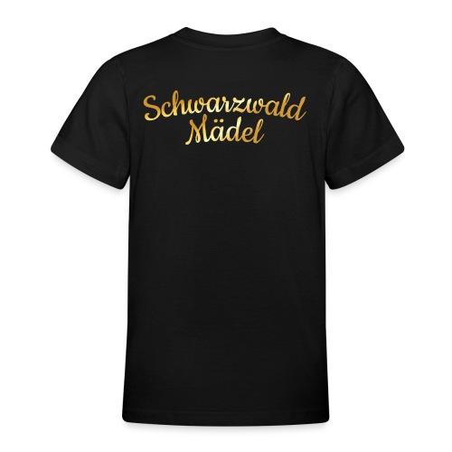 Schwarzwald Mädel (Goldgelb) - Teenager T-Shirt