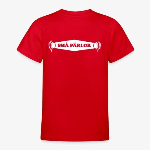 Små Pärlor logoype - T-shirt tonåring