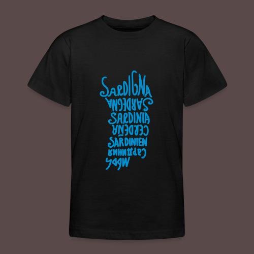 Sardegna, Lingue del mondo - Maglietta per ragazzi