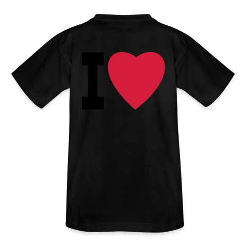 create your own I LOVE clothing and stuff - Teenage T-Shirt