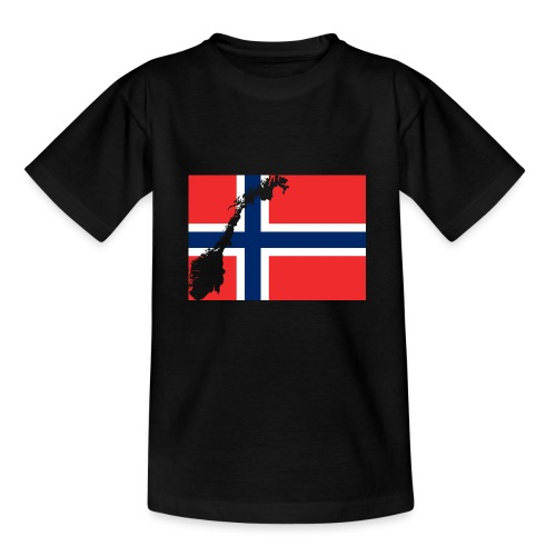 Norges Flagg - Teenager T-Shirt