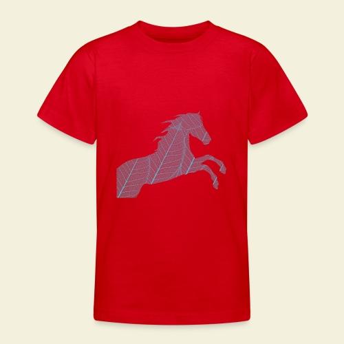Cheval feuille - T-shirt Ado