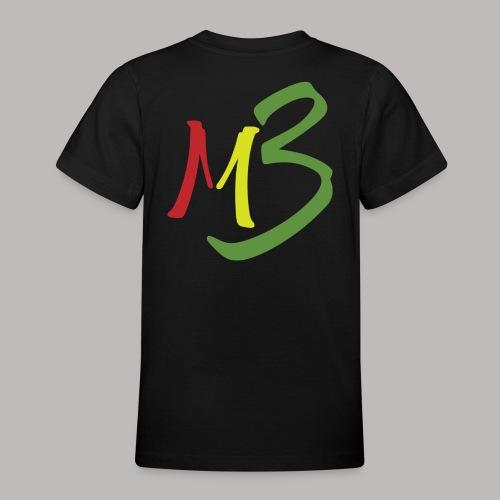 MB13 Logo rasta1 - Teenage T-Shirt