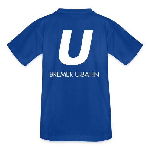 hbu logo 027 full spreadshirt motiv 2 - Teenager T-Shirt