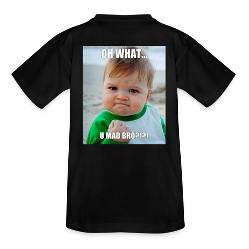 U mad bro - T-skjorte for tenåringer