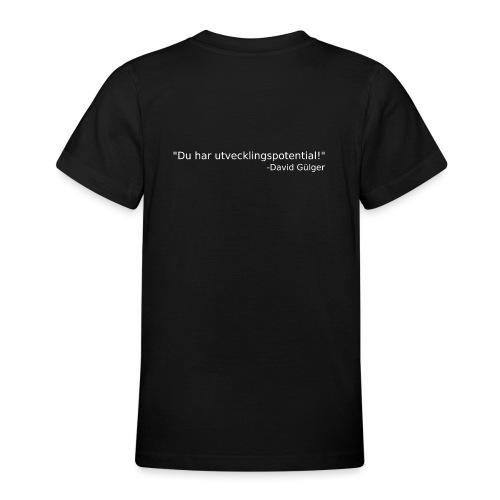 Ju jutsu kai förslag 1 version 1 vit text - T-shirt tonåring