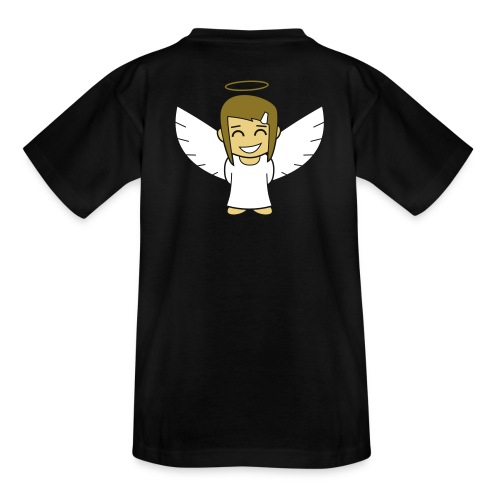 Angelgirl, negativ (ohne Text) - Teenager T-Shirt