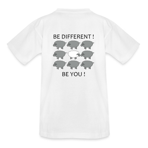 be-different-be-you-t-shi - T-shirt Ado