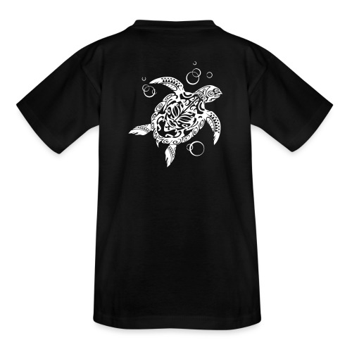 Watchful Turtle - Teenage T-Shirt