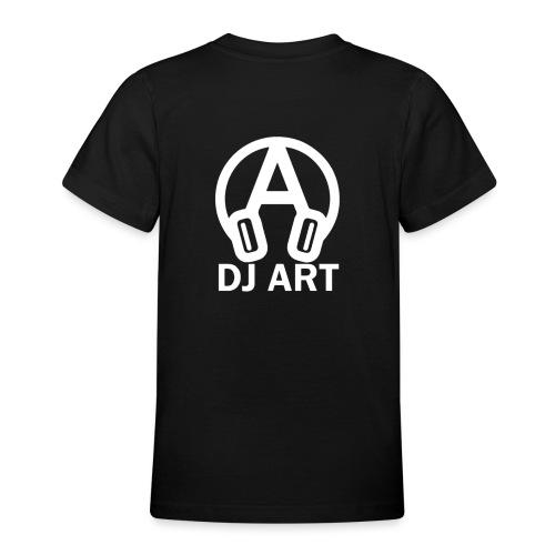 DJ Art (donkere pull-kleuren) - Teenager T-shirt