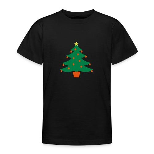 Christmas Tree - Teenage T-Shirt