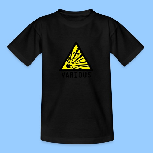VariousExplosions Triangle (2 colour) - Teenage T-Shirt