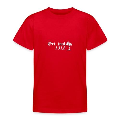 1312 T-Hemd [Druck beidseitig] - Teenager T-Shirt
