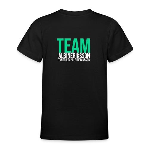 Team albinerikss0n - T-shirt tonåring