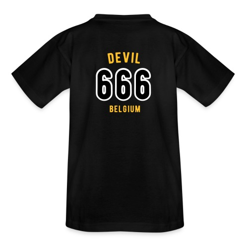 666 devil Belgium - T-shirt Ado