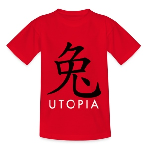 Utopia - Mr. Rabbit - Camiseta adolescente